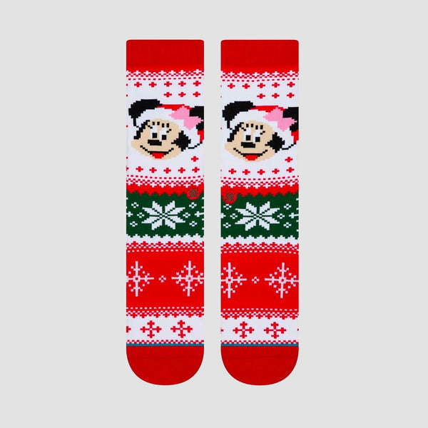Stance Christmas Disney - Minnie Claus Socks Multi - Accessories