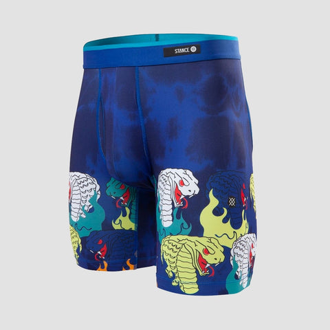 Stance Cobra Burn Boxer Brief Blue