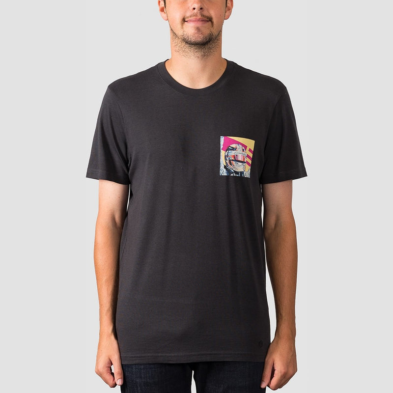 Stance Formula Tee Black Fade - Clothing