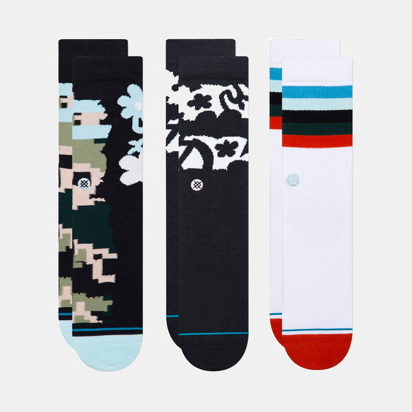 Stance Futurist Socks 3 Pack Multi