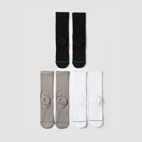 Stance Icon 3 Pack Socks Multi - Accessories