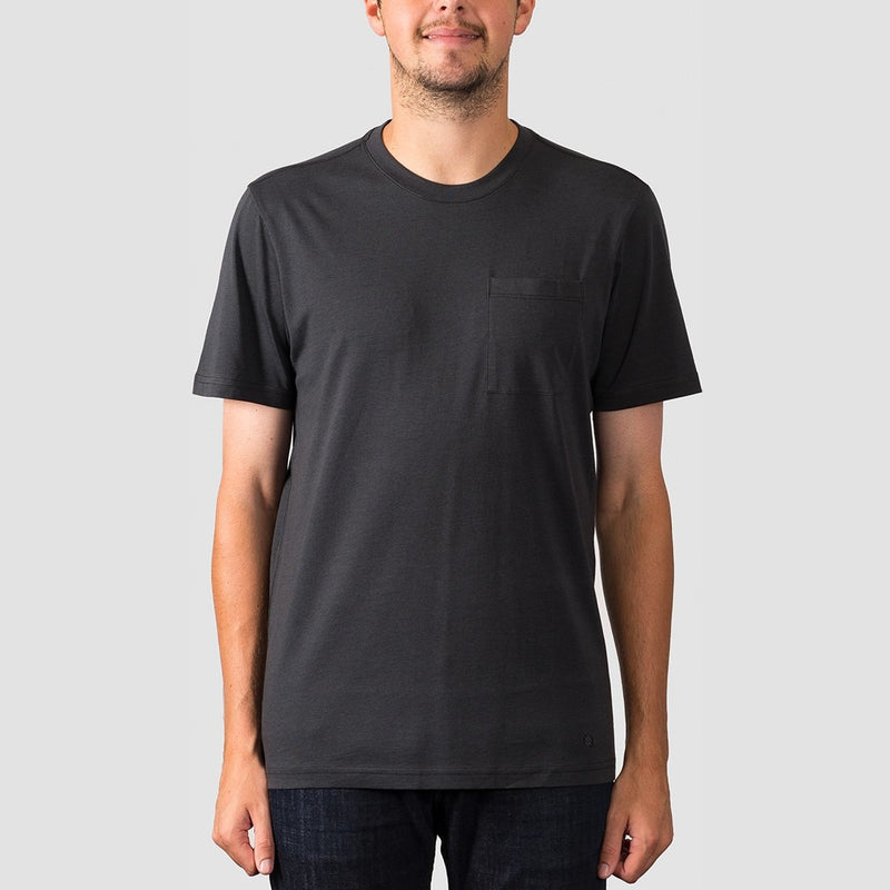 Stance Shelter Pocket Tee Black Fade - Clothing