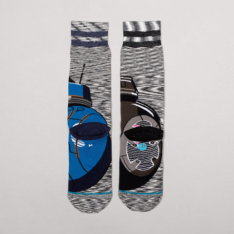 Stance Star Wars Astromech Socks Grey - Accessories