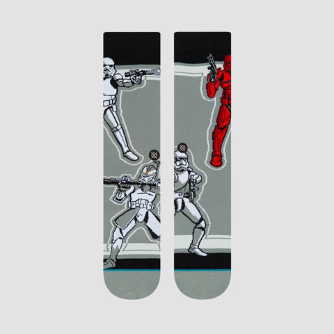 Stance Star Wars - Storm Trooper Socks Grey