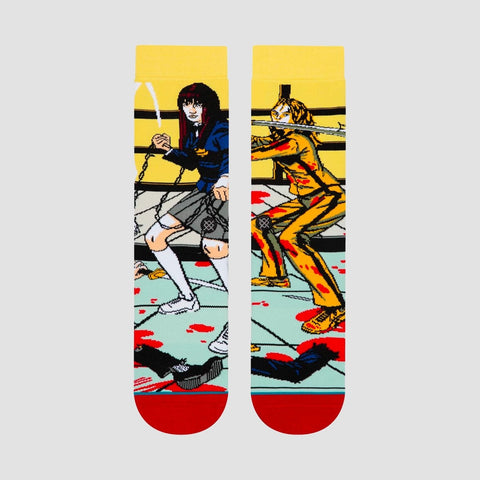 Stance The Bride And Gogo Quentin Tarantino Socks Purple