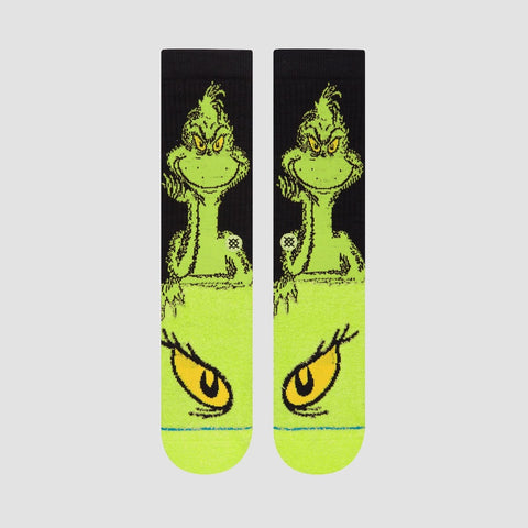 Stance The Grinch Socks Green