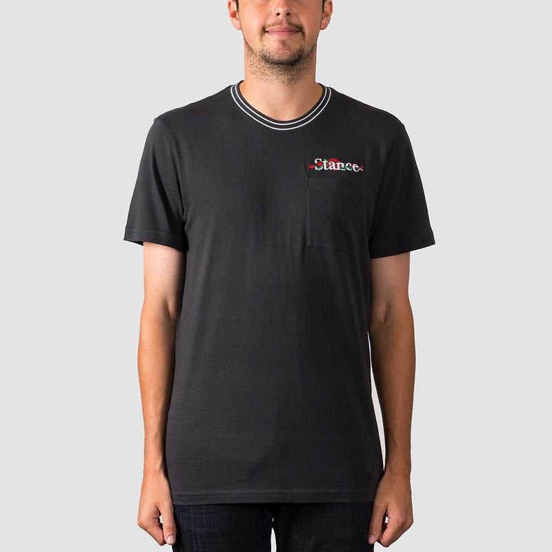 Stance Thorns Tee Black Fade - Clothing