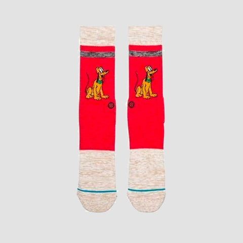Stance Vintage Disney - Pluto Socks Red