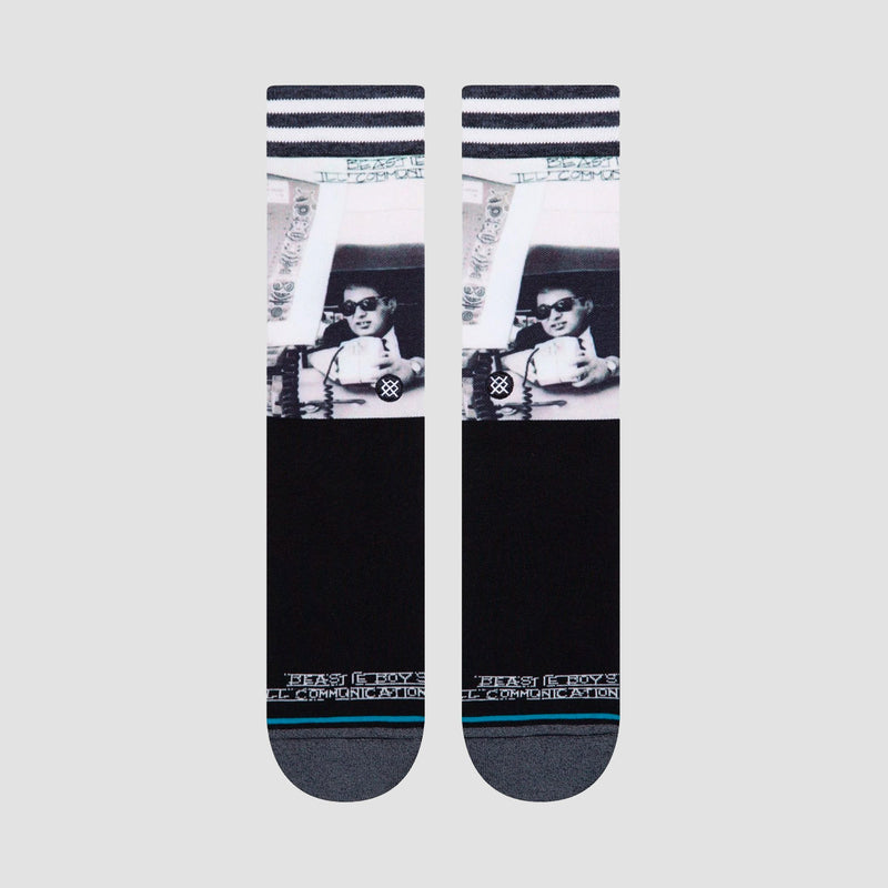 Stance X Beastie Boys Ill Communications Socks Black