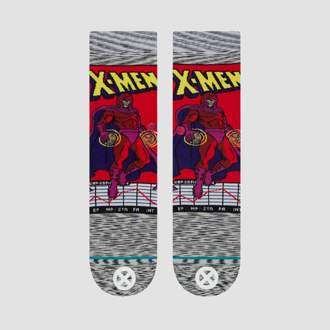 Stance X-Men - Magneto Comic Socks Grey