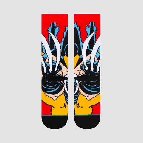 Stance X-Men - Wolverine Socks Red - Accessories
