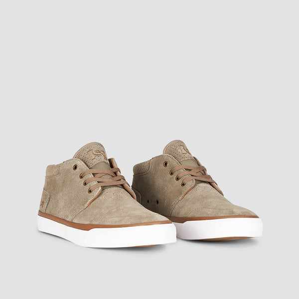 State Albany Walnut/White/Gum Suede - Footwear