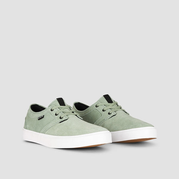 State Bishop Mint/White Suede - Footwear