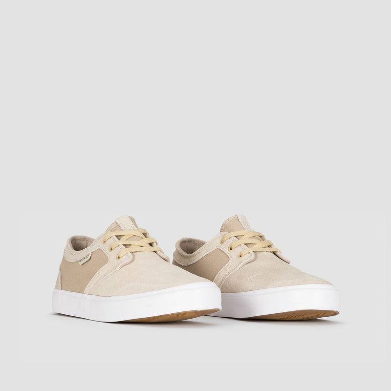 State Bishop Sand/White Suede - Footwear