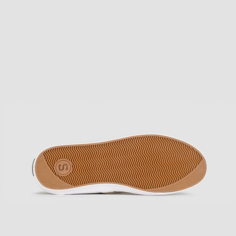 State Bishop Walnut/White Suede - Footwear