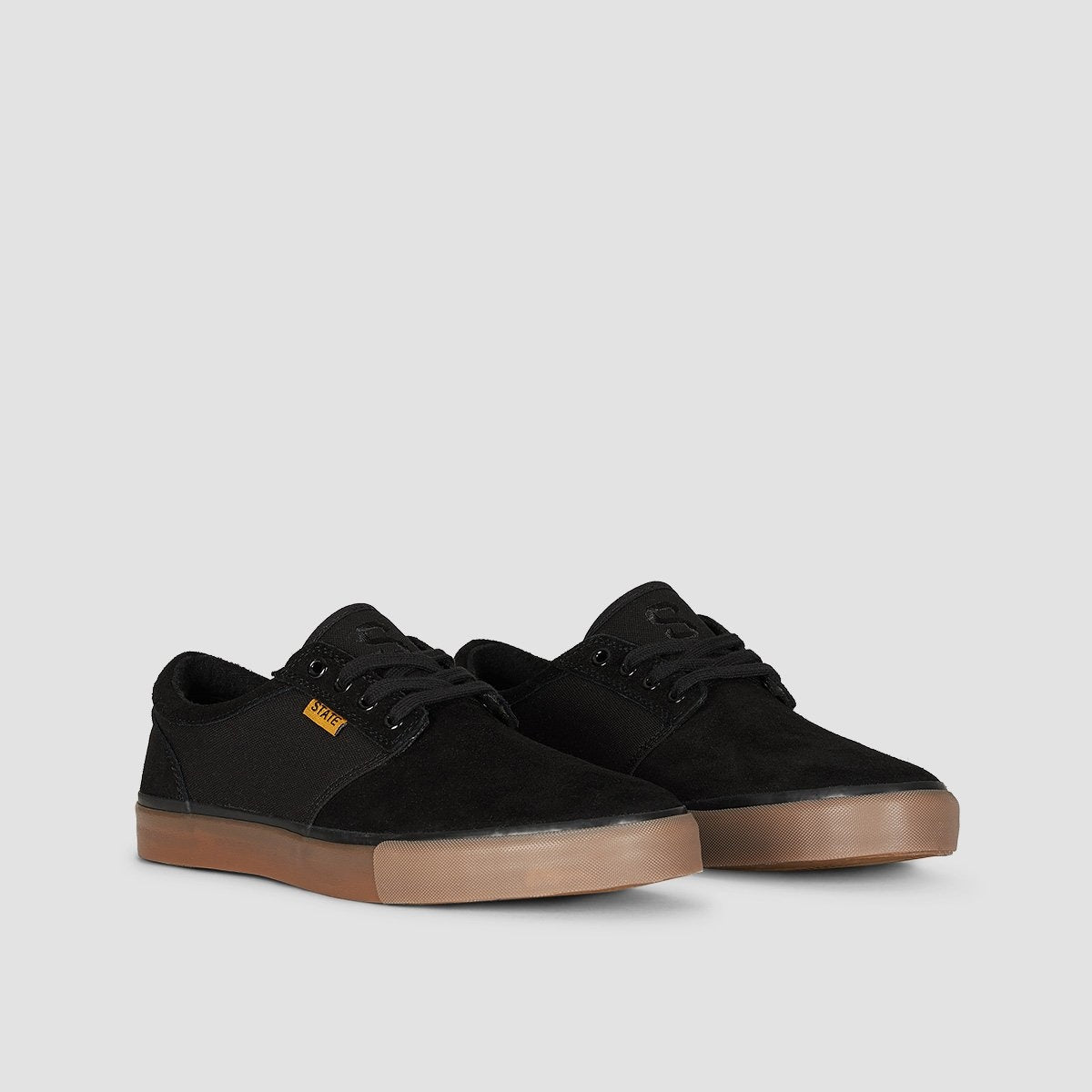 State Elgin Black/Gum - Footwear