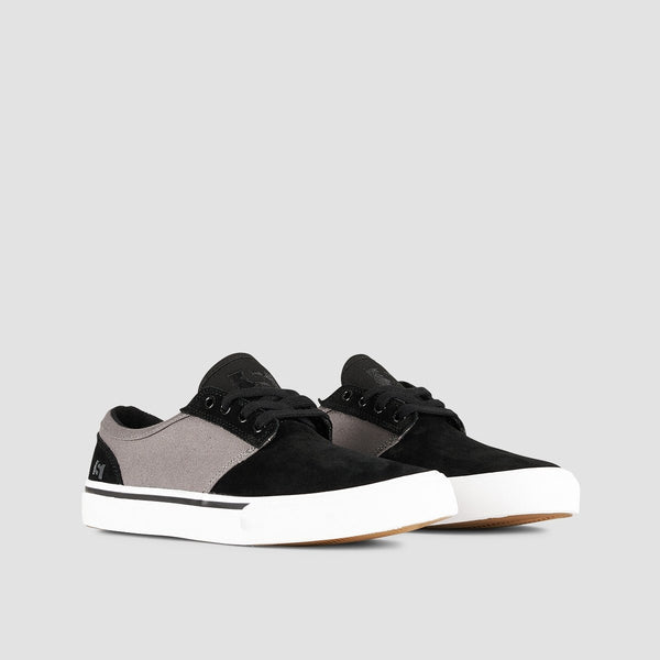 State Elgin Black/Pewter Suede - Footwear