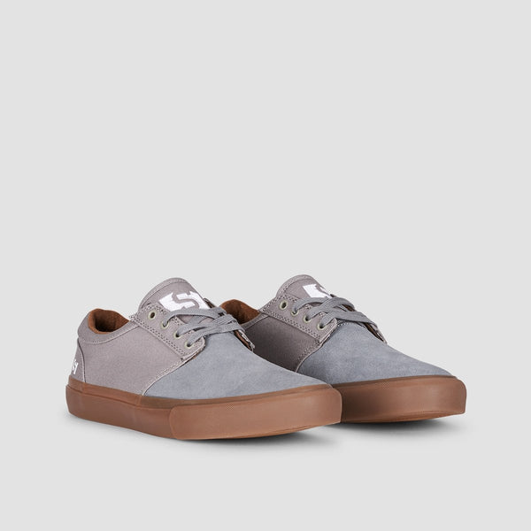 State Elgin Mid Grey/Gum Canvas - Footwear
