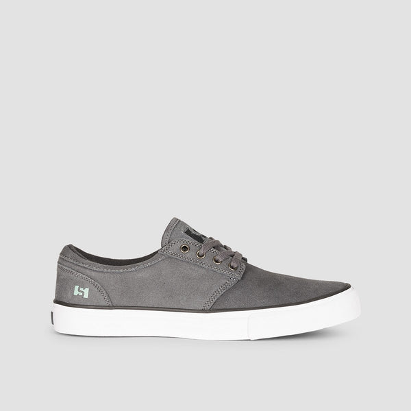State Elgin Pewter/Mint Suede - Footwear
