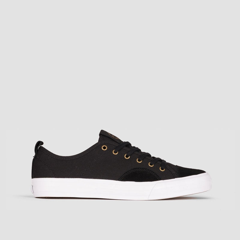 State Harlem Black/White Canvas/Suede - Footwear