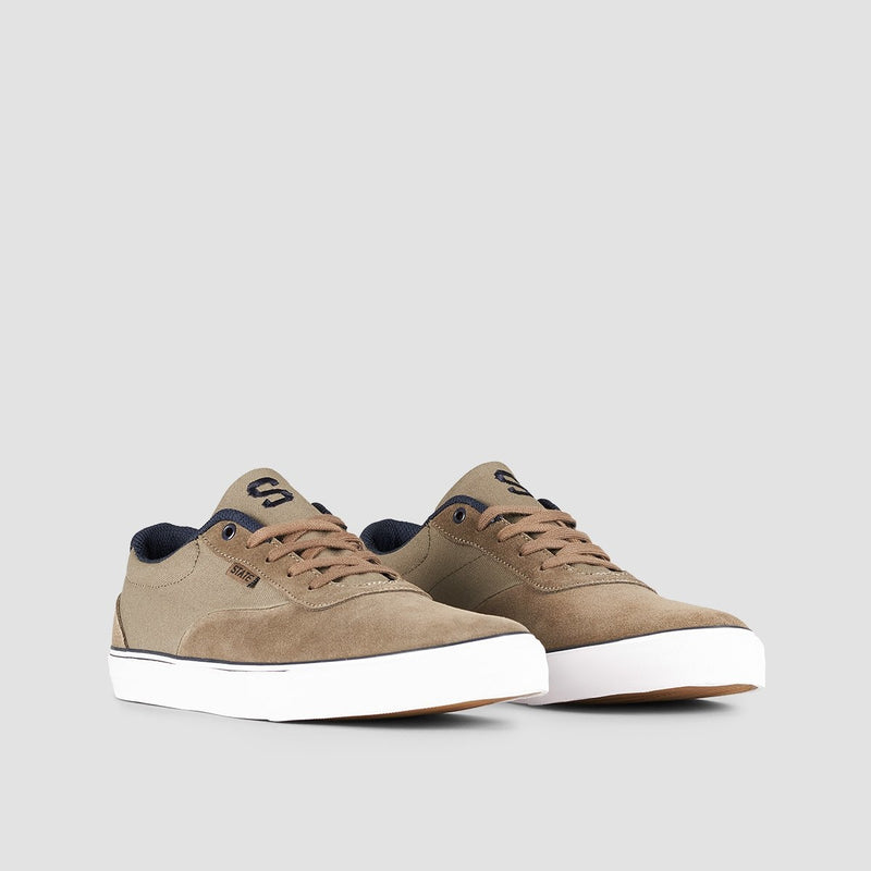 State Madison Walnut/Navy/Suede - Footwear