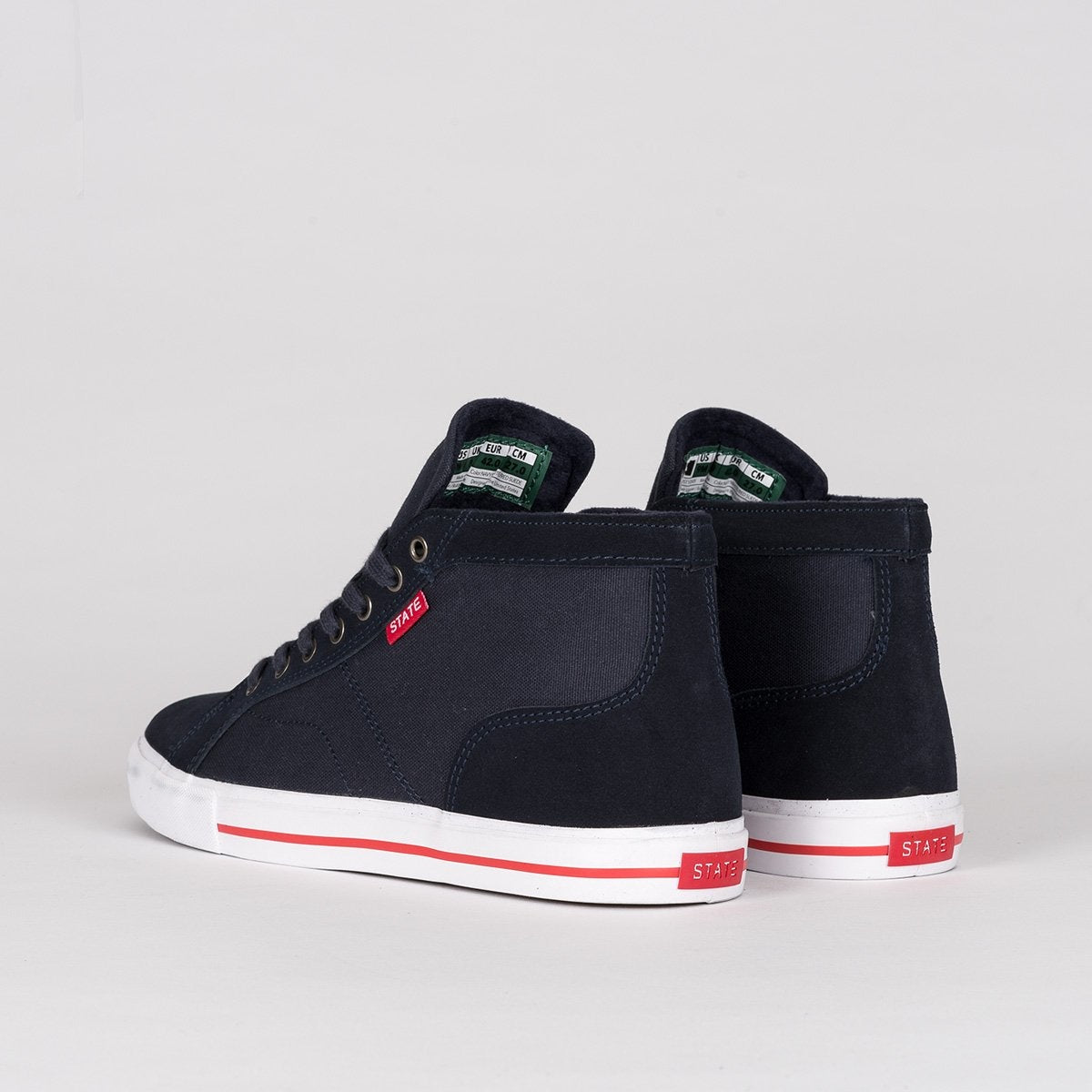 State Salem Navy/White/Red - Footwear