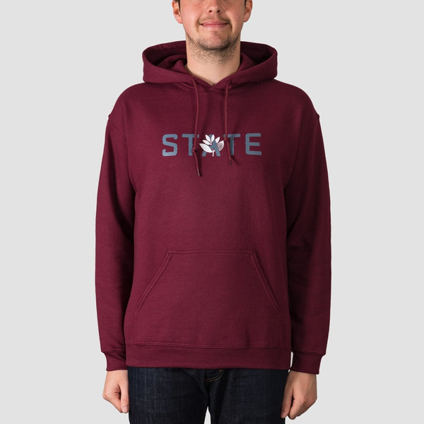 State X Magenta Pullover Hood Burgundy - Clothing