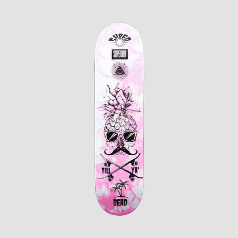 Superior Pineapple Shred Deck Pink - 8""