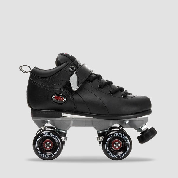 Sure Grip Boxer Aerobic Quads Black - Kids - Skates