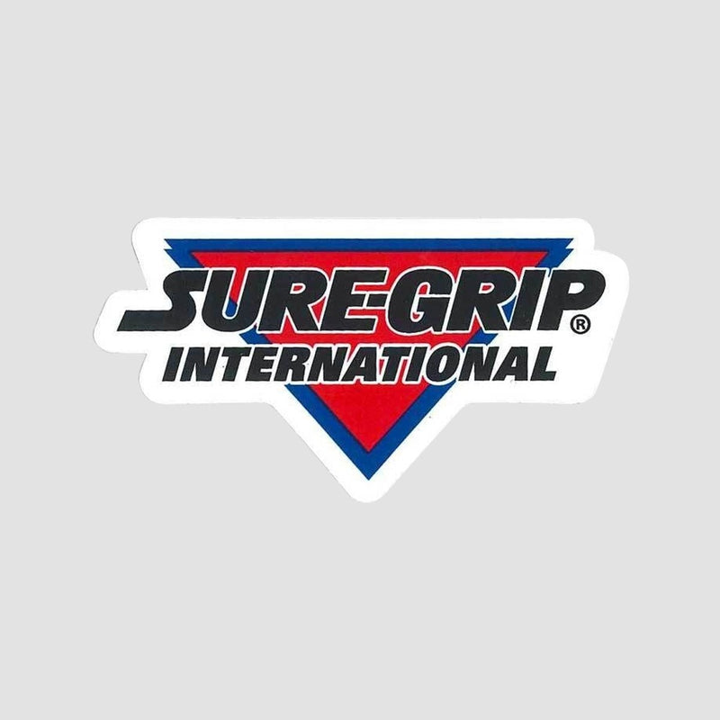 Sure Grip International Sticker White/Red/Black 80mm x 40mm - Skates