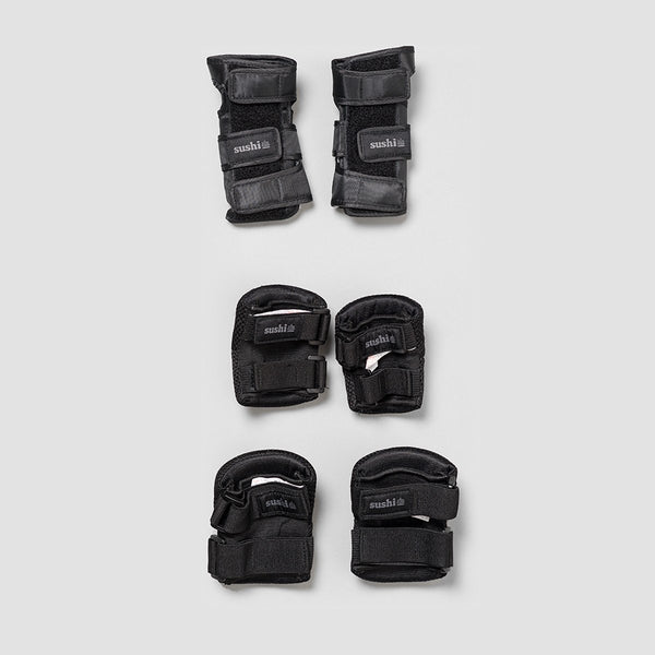 Sushi 3-Pack Padset Black - Kids - Safety Gear