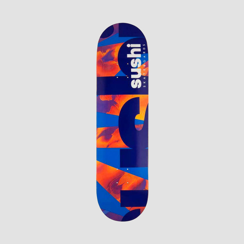 Sushi Spectrum Logo Deck Blue/Red - 8.25""