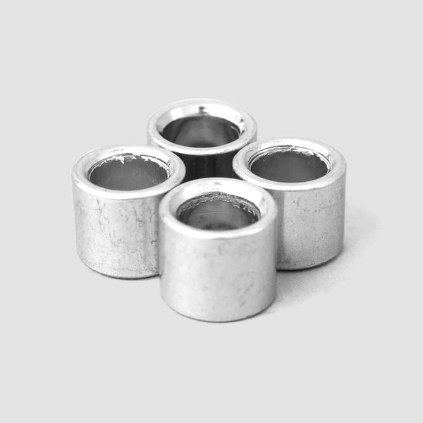 Sushi Steel Bearing Spacers x4 Silver 10mm