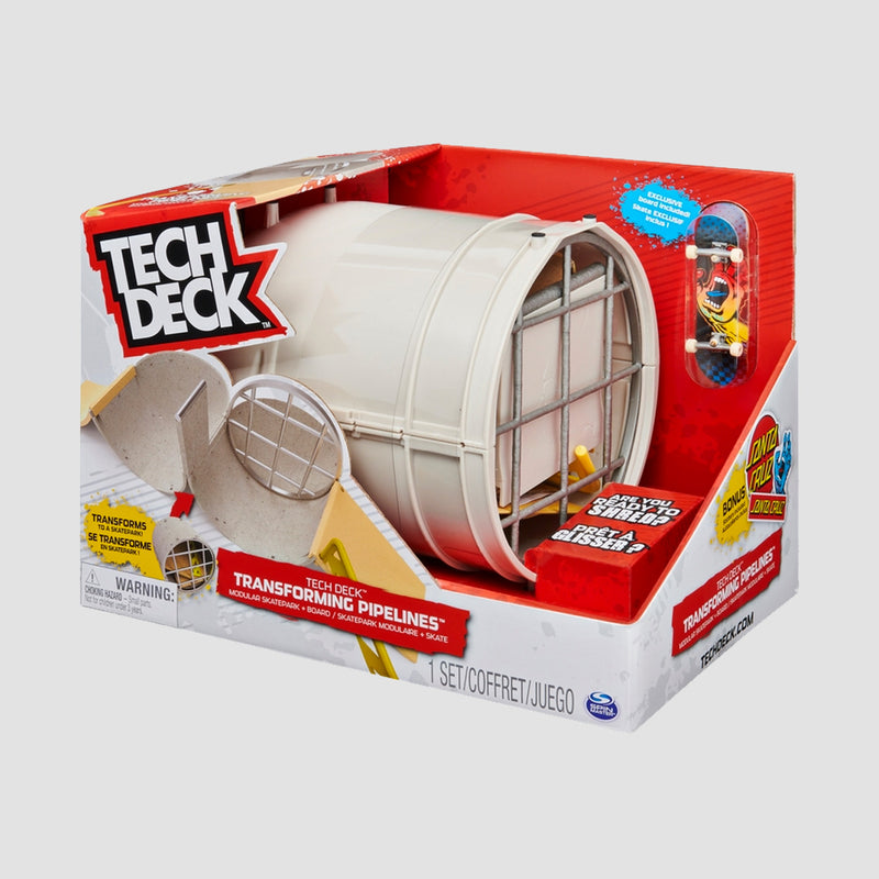 Tech Deck Transforming Pipelines Ramp