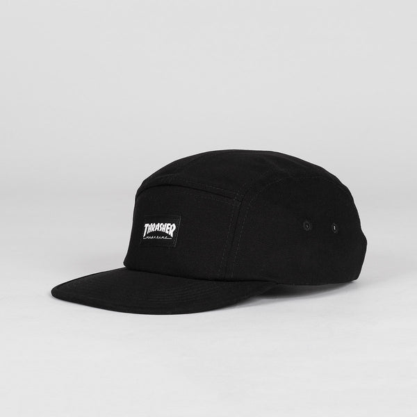 Thrasher 5 Panel Cap Black - Accessories
