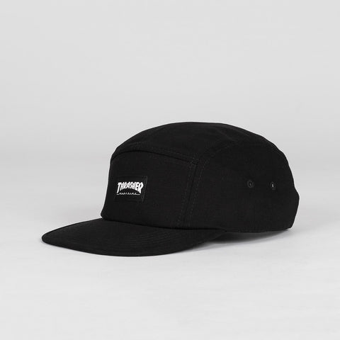 Thrasher 5 Panel Cap Black