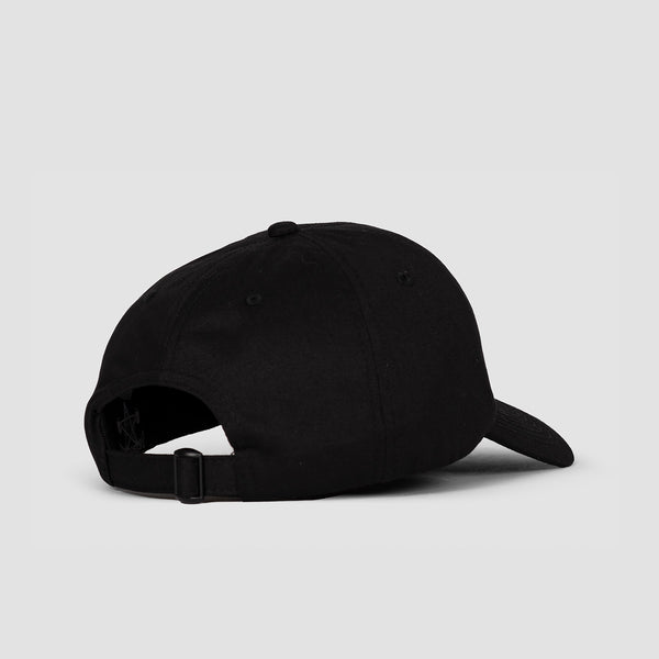 Thrasher Flame Old Timer Cap Black
