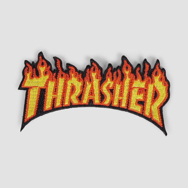 Thrasher Flame Patch Flame - Accessories