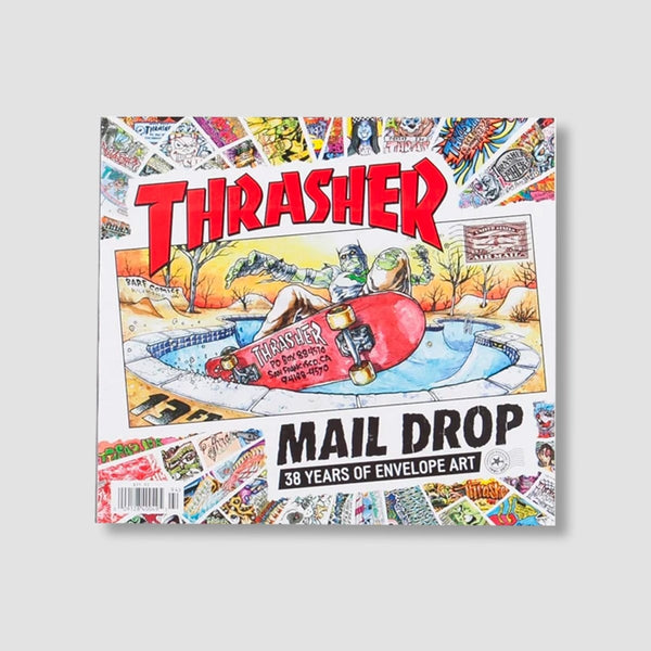 Thrasher Mail Drop Book - Skateboard
