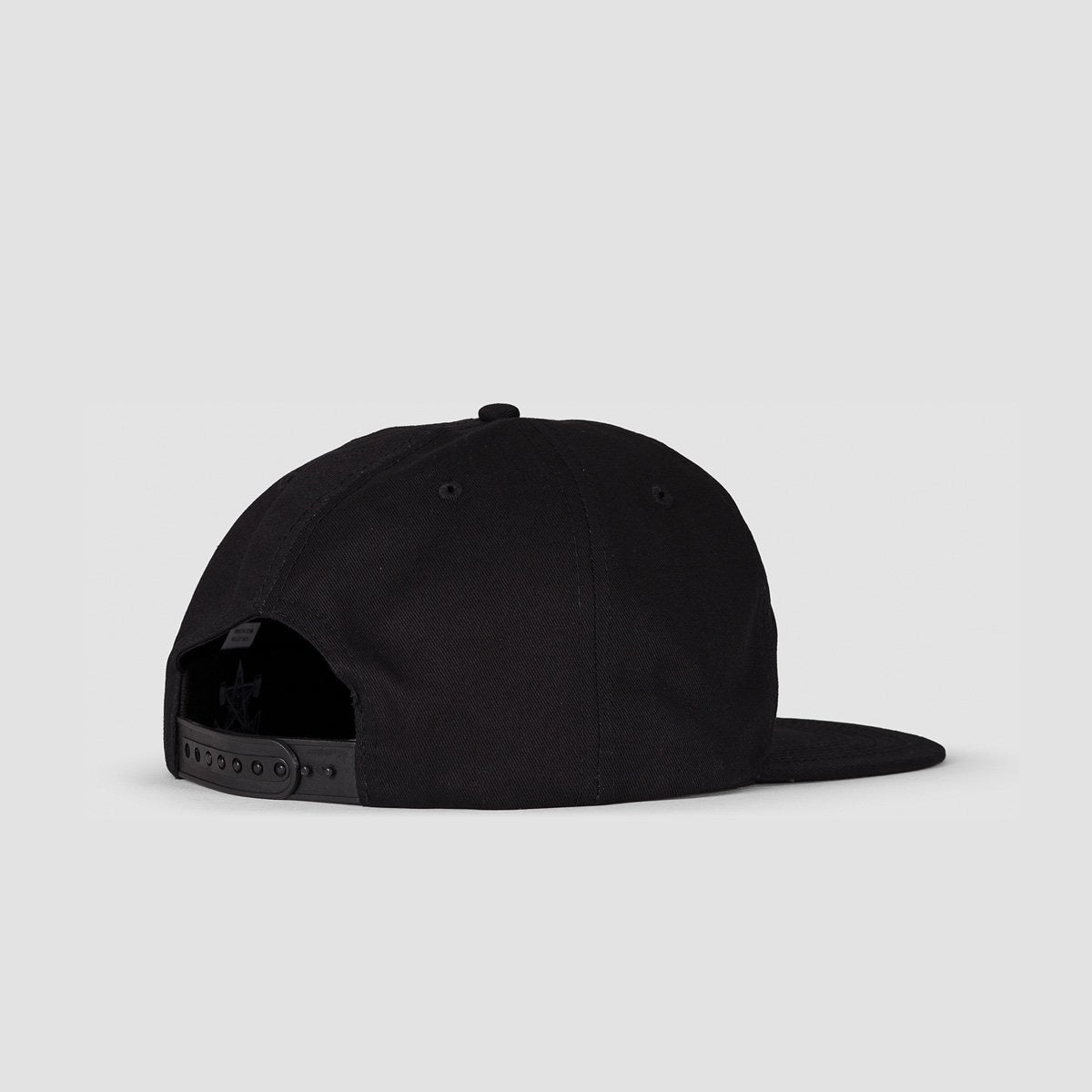 Thrasher Outlined Snapback Cap Black - Accessories