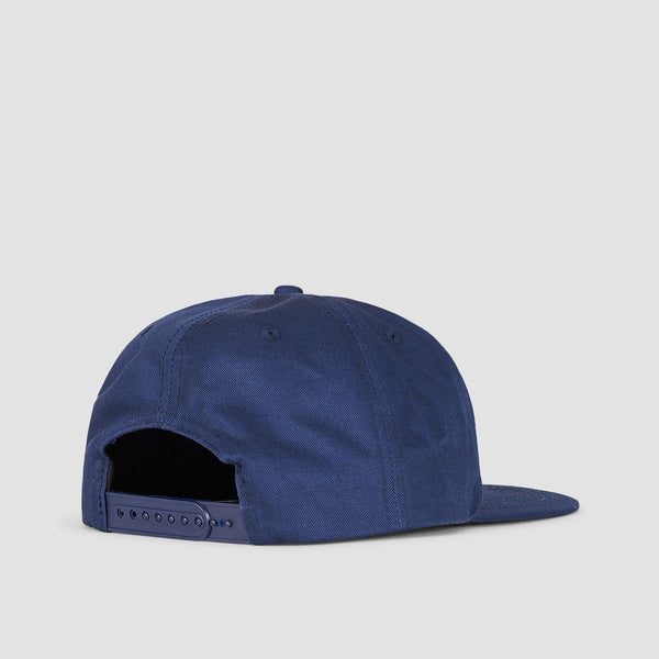 Thrasher Outlined Snapback Cap Navy - Accessories
