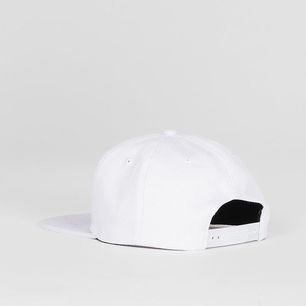Thrasher Oval Snapback Cap White - Accessories