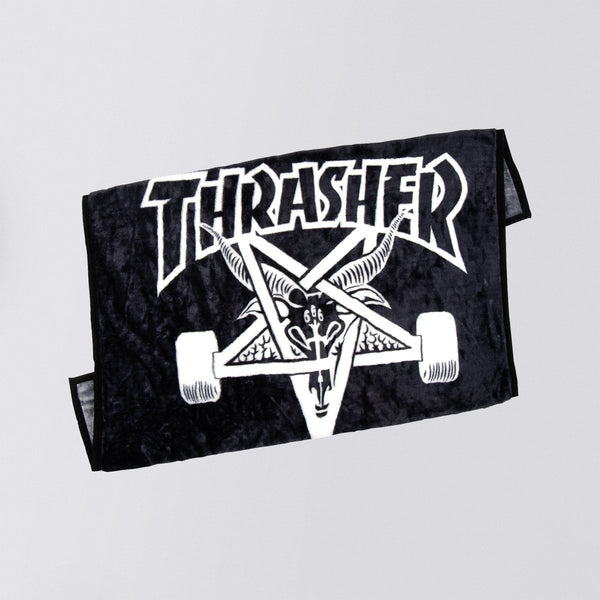Thrasher Sk8 Goat Blanket Black/White - Accessories