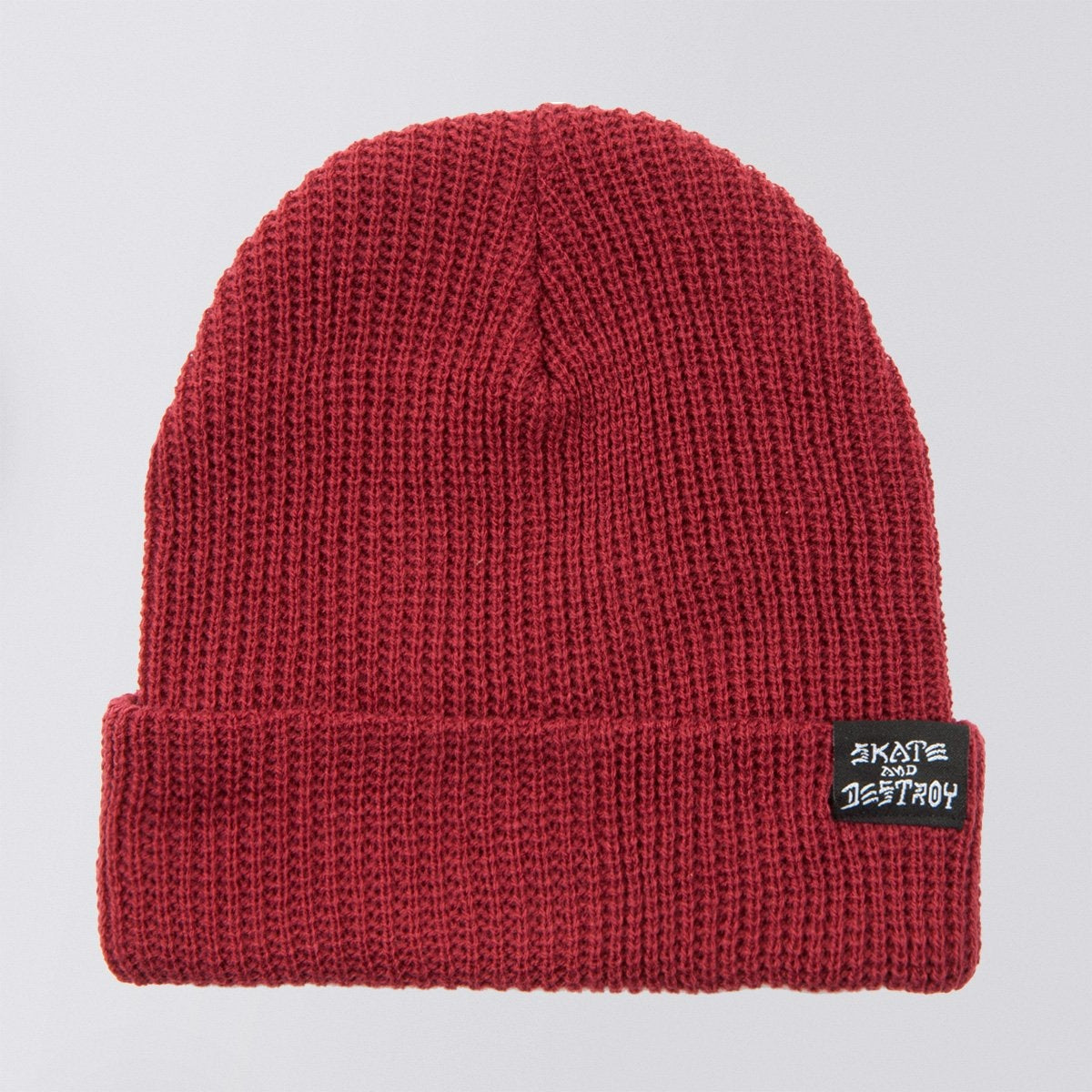 Thrasher Skate Goat And Destroy Beanie Maroon Red - Accessories