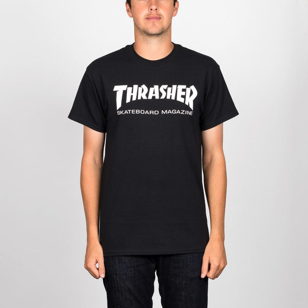 Thrasher Skate Mag Tee Black - Clothing