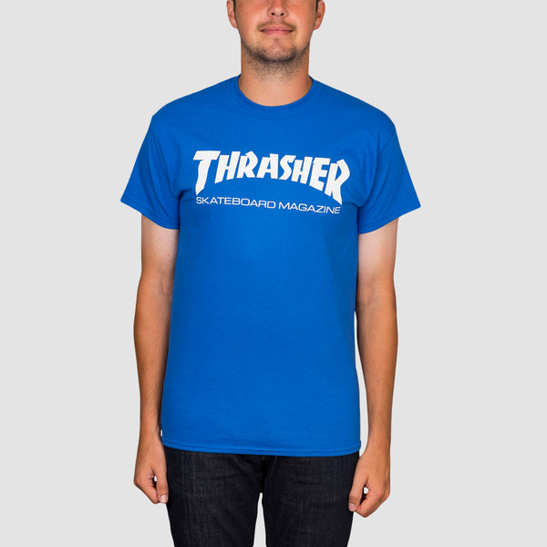 Thrasher Skate Mag Tee Royal Blue