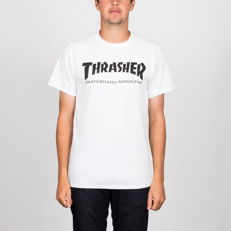 Thrasher Skate Mag Tee White - Clothing