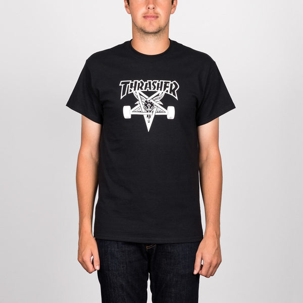 Thrasher Skategoat Tee Black - Clothing