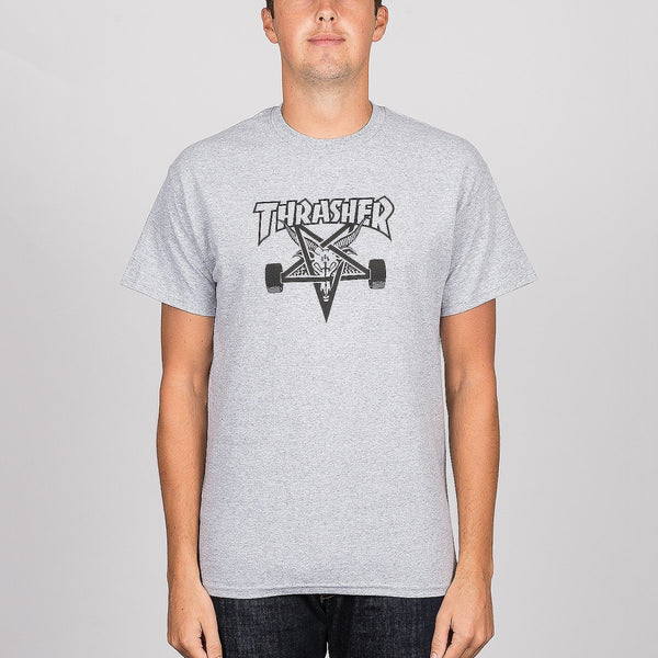 Thrasher Skategoat Tee Grey - Clothing
