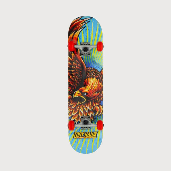 Tony Hawk Golden Hawk SS 180 Pre Built Complete Multi - 7.75 - Skateboard